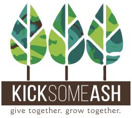 Kick Some Ash logo