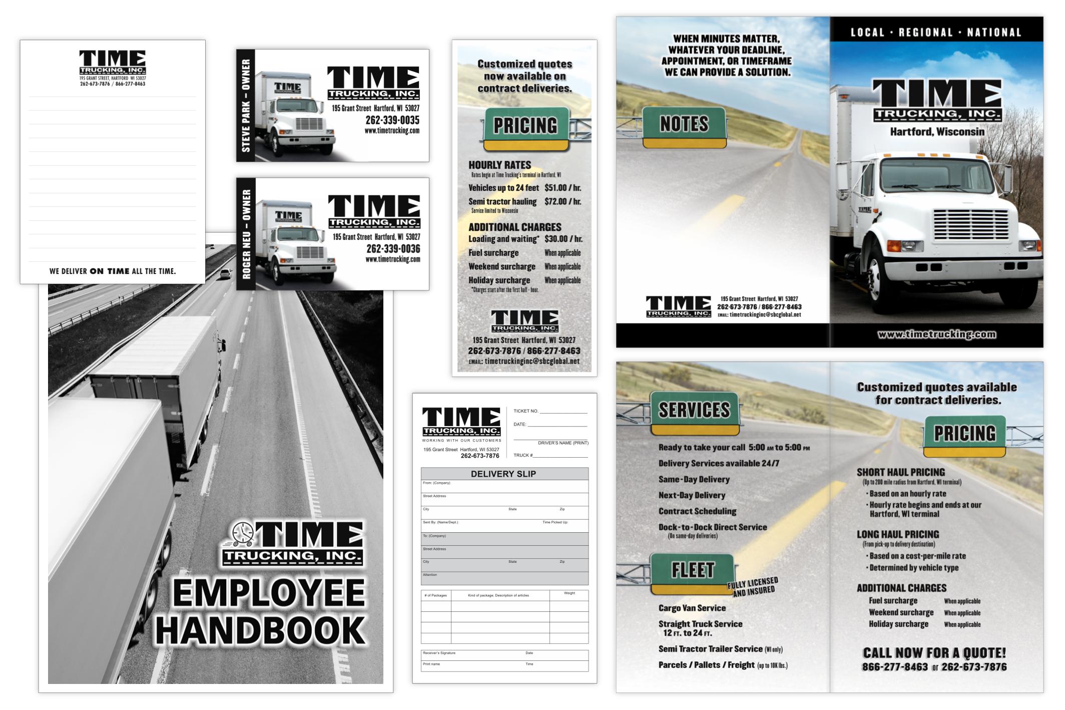 Time Trucking marketing