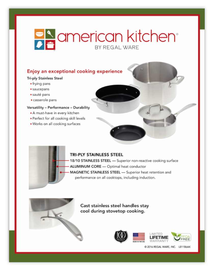 American Kitchen Store Poster