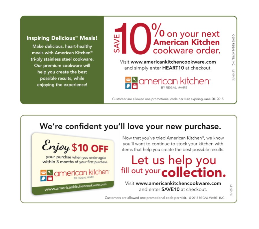 American Kitchen coupons