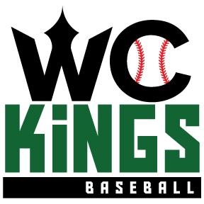 WC Kings Baseball logo