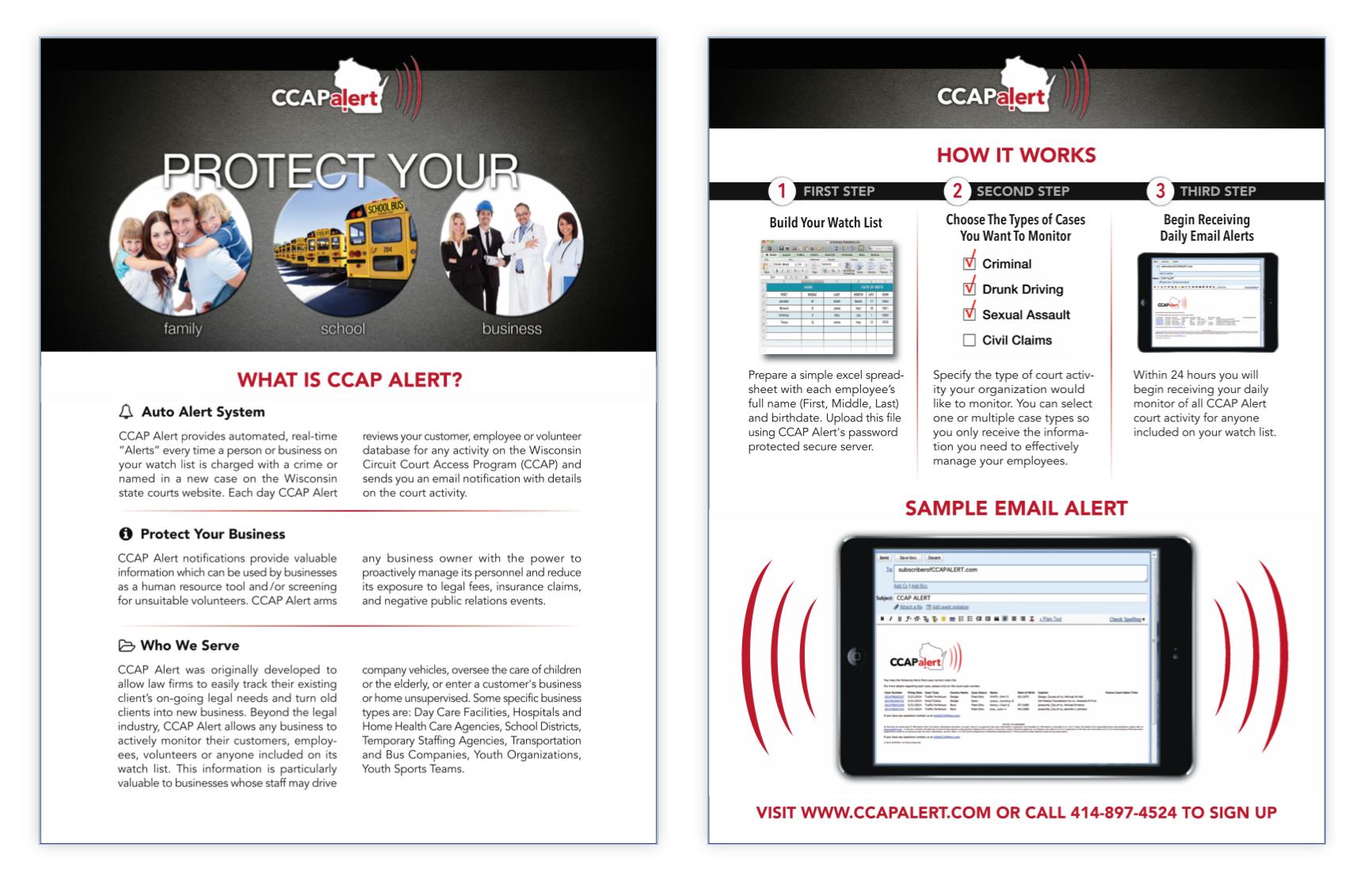 CCAP Alert product sheet