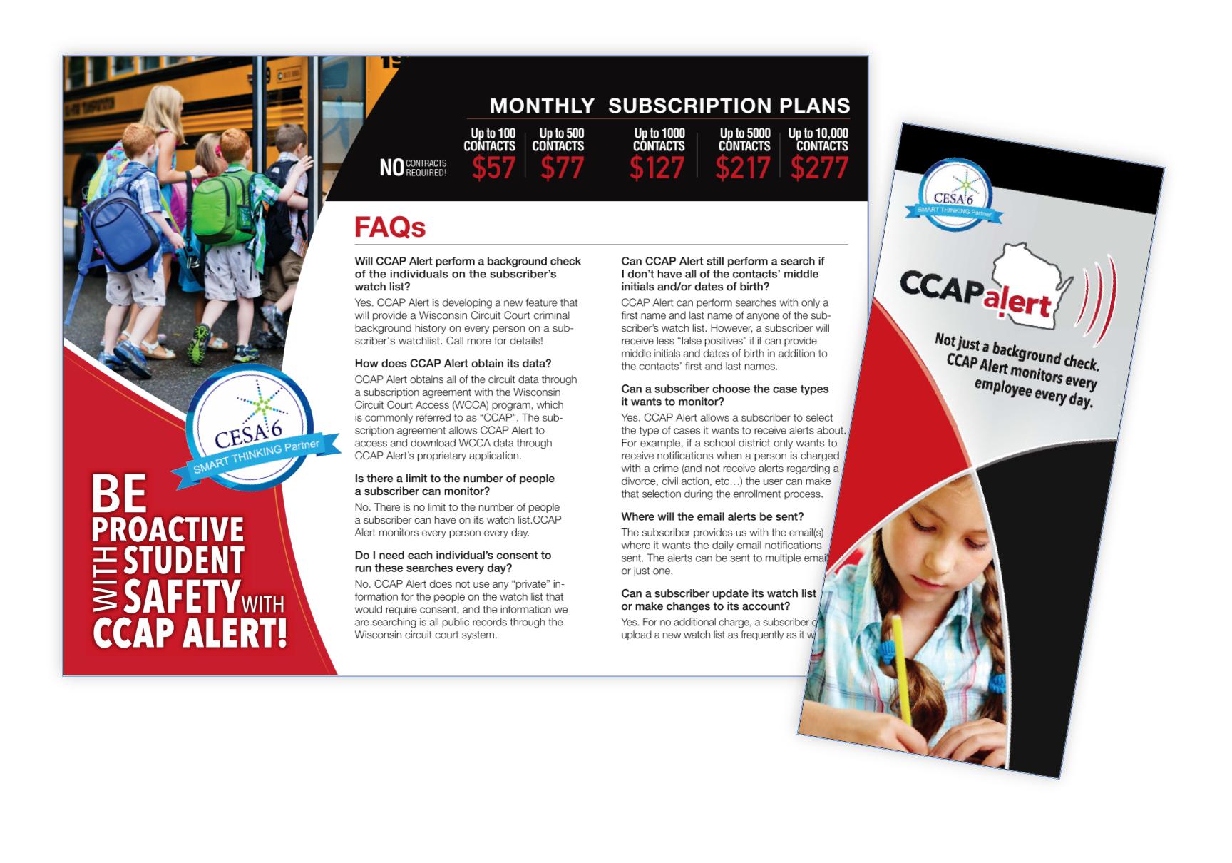 CCAP Alert brochure