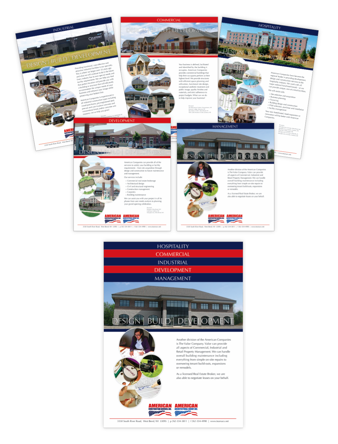Staggered Presentation Inserts