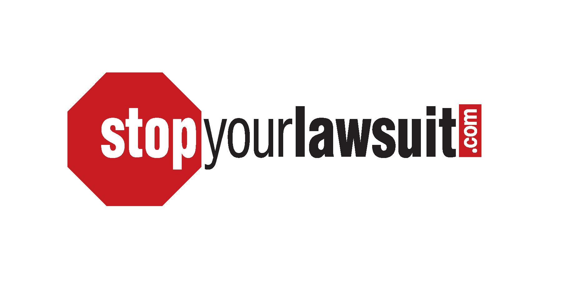 Stop Your Lawsuit logo
