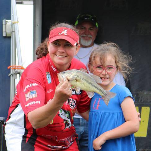 Pro Angler Lisa Johnson