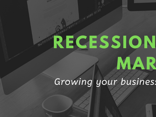 Why you shouldn't stop marketing in a recession