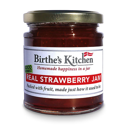 REAL STRAWBERRY JAM