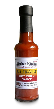 ALL FIRED UP HOT CHILLI SAUCE