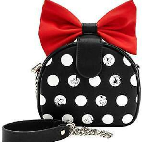Loungefly Minnie Mouse Polka Big Red Crossbody
