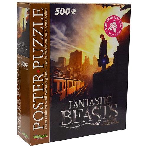 Fanastic Beasts 500 Piece Puzzle BOX DAMAGE