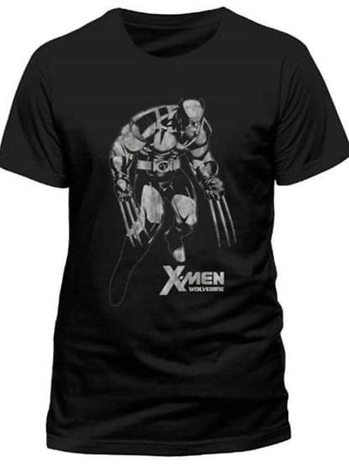 Mens/Unisex T-Shirt Wolverine