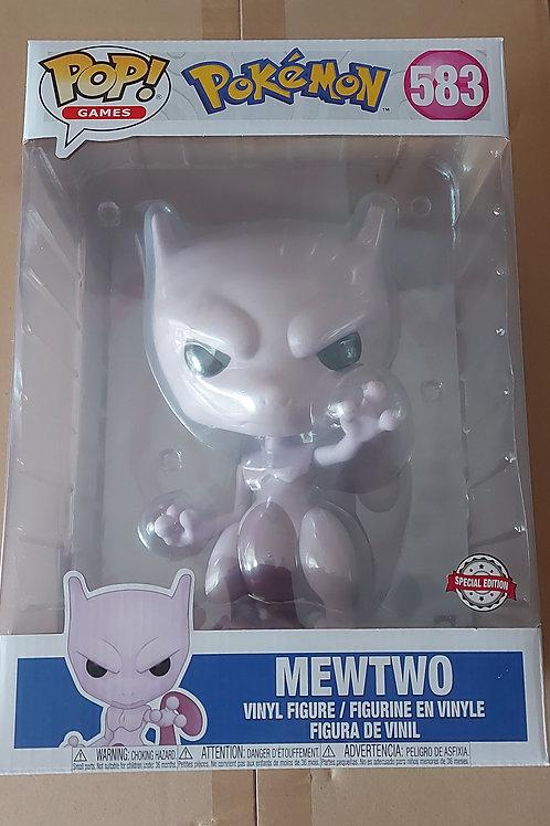 """Pokemon mewtwo 10"""" funko pop"""