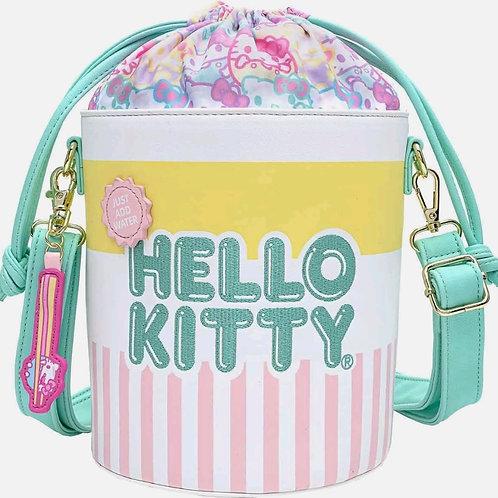 Loungefly hello kitty cup o' kitty Cross body bucket bag