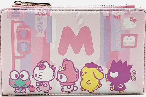 Loungefly hello kitty kawii all over print wallet