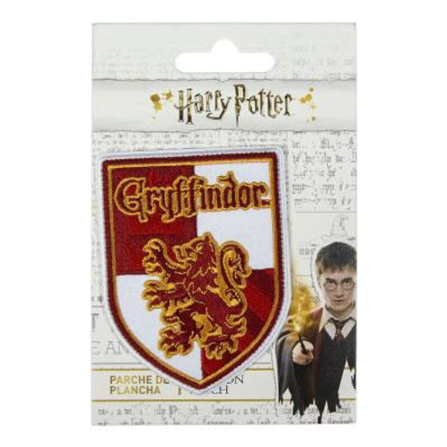Harry Potter Gryffindor Crest Iron On Patch
