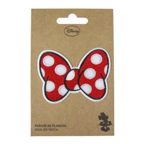 Disney Minnie Mouse Bow Iron On Patch