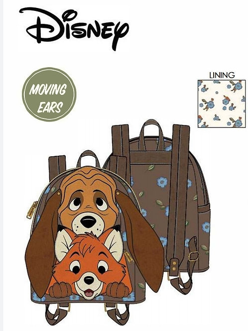 LF DISNEY FOX AND HOUND TODD AND COPPER COSPLAY MINI BACKPACK pre-order