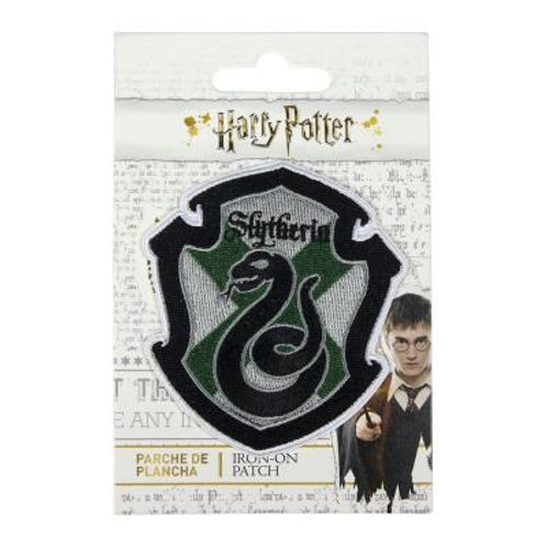 Harry Potter Slytherin Crest Iron On Patch