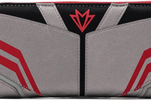 Loungefly marvel falcon zip around wallet