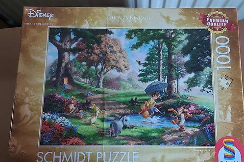 DISNEY WINNIE THE POOH 1000pcs Puzzle