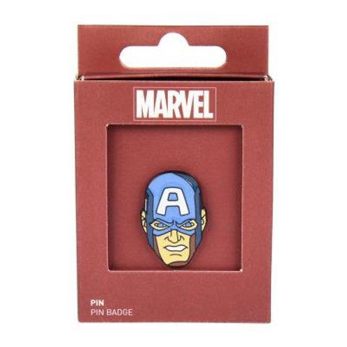 Marvel Avengers Captain America Pin Badge