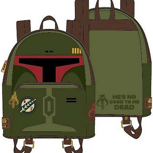 LF STAR WARS BOBA FETT HE'S NO GOOD TO ME DEAD COSPLAY MINI BACKPACK pre-order