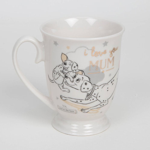 Disney Magical Beginnings Dalmatian Mug I Love You Mum (SPECIAL OFFER)