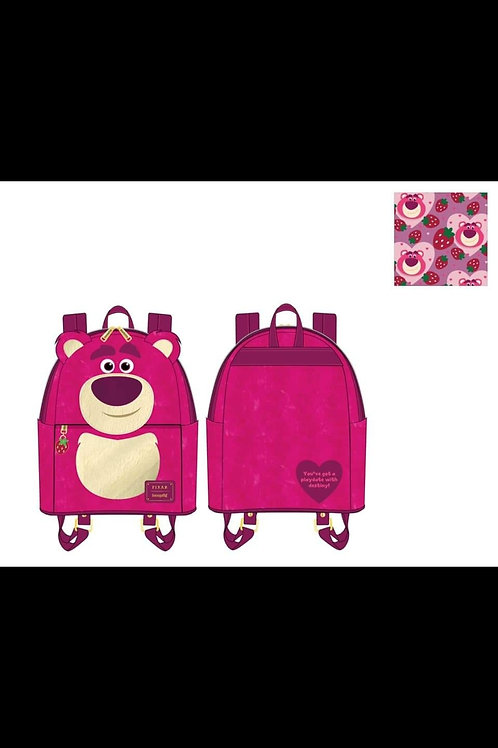 LOUNGEFLY DISNEY TOY STORY LOTSO SHERPA MINI BACKPACK  pre-order june