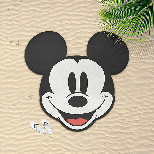 Disney Mickey Mouse Shaped Towel