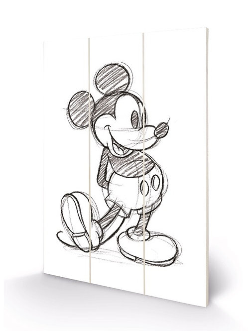 Mickey Mouse (Sketched)