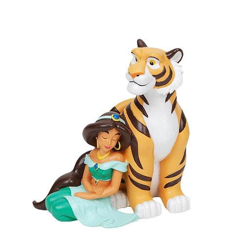 Disney Magical Moments Figurine Jasmine and Rajah