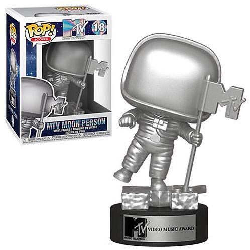 Funto pop icon:MTV moon person vinyl figure
