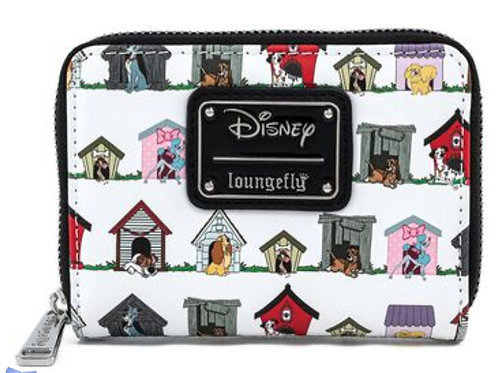 Loungefly disney dogs house wallet