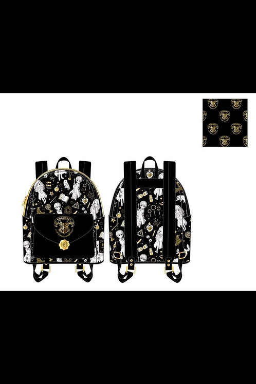 LOUNGEFLY HARRY POTTER MAGICAL ELEMENTS AOP MINI BACKPACKpre-order june