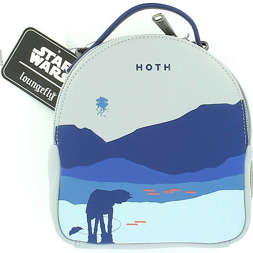 Loungefly Star Wars Hoth Bag and Mini Purse
