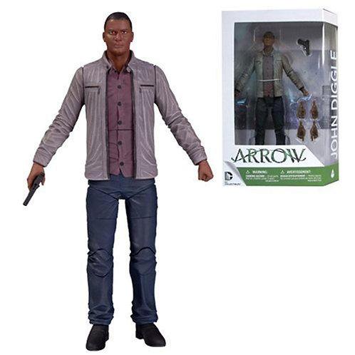DC Arrow John Diggle Figure