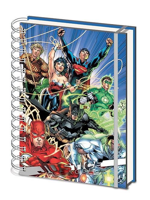 A5 Justice League Notebook