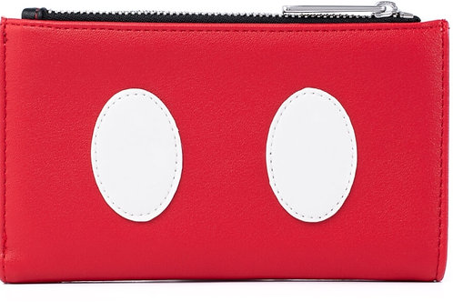 Loungefly disney mickey mouse quilted wallet