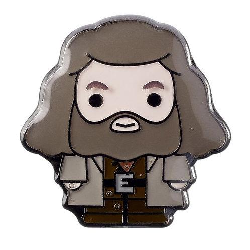Harry Potter Chibi Hagrid Pin Badge