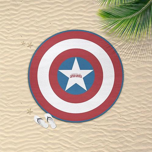 Marvel Captain America Towel