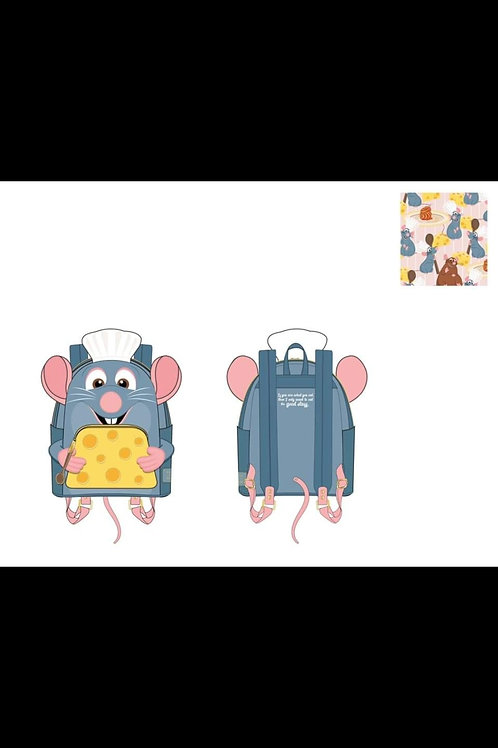 LOUNGEFLY DISNEY RATATOUILLE CHEF COSPLAY MINI BACKPACK pre-order june