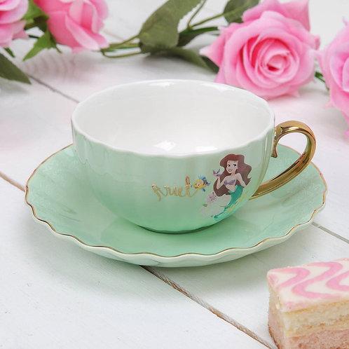 Disney Pastel Princess Tea Cup and Saucer Ariel(LIMITED OFFER)
