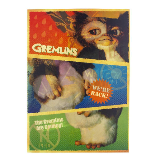 Gremlins lenticular cover notebook