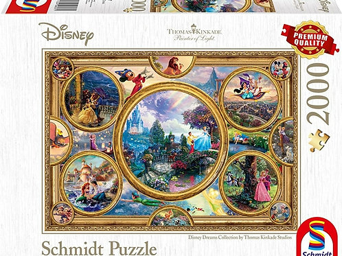 DISNEY  2000pcs Puzzle pre-order