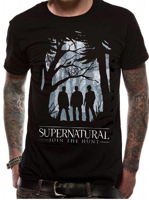 Men's/Unisex Black Supernatural Join The Hunt T-Shirt