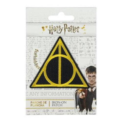 Harry Potter Deathly Hallows Symbol Iron On Patch