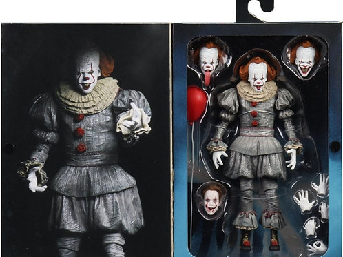 NECA ULTIMATE IT CHAPTER 2 PENNYWISE ULTIMATE ACTION FIGURE