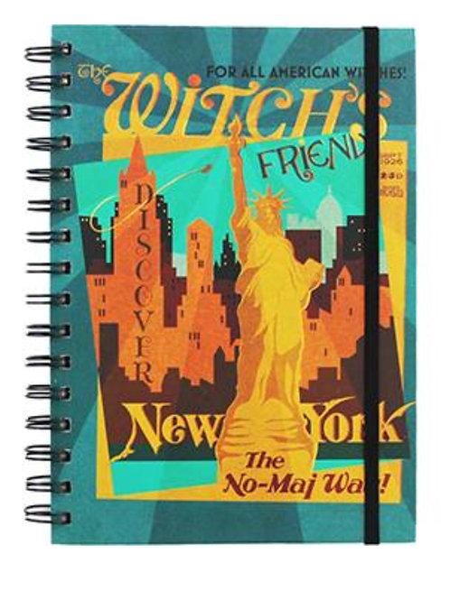 Fantastic Beasts A5 Notebook