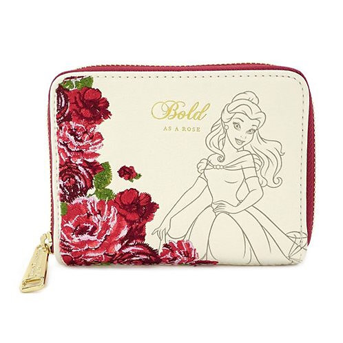 Loungefly Beauty and the Beast Mini Floral Purse